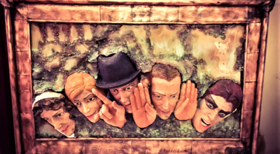 La targa in 3D dedicata a Paolo Poli